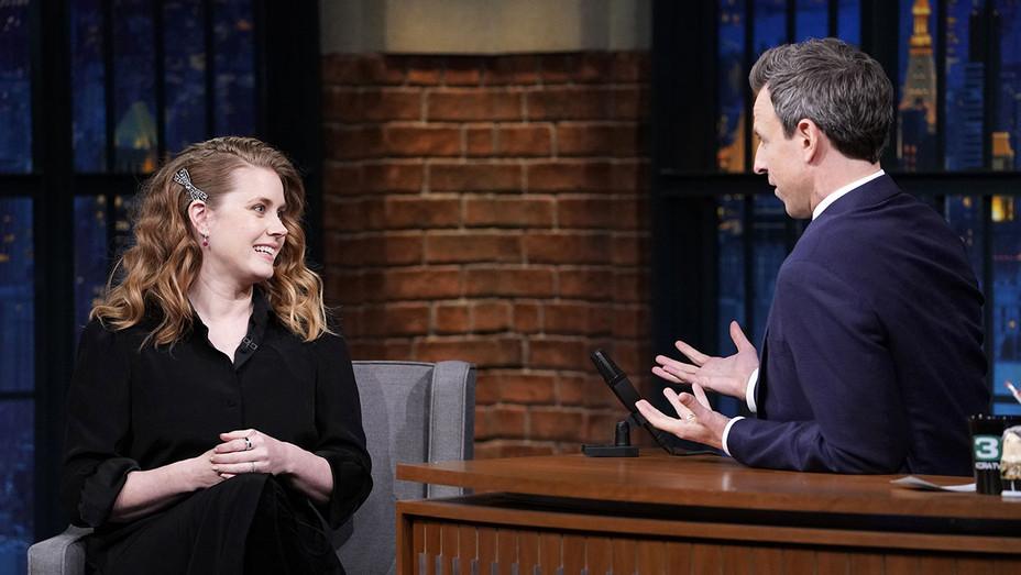 Late Night with Seth Meyers-Amy Adams-Seth Meyers-Publicity-H 2018