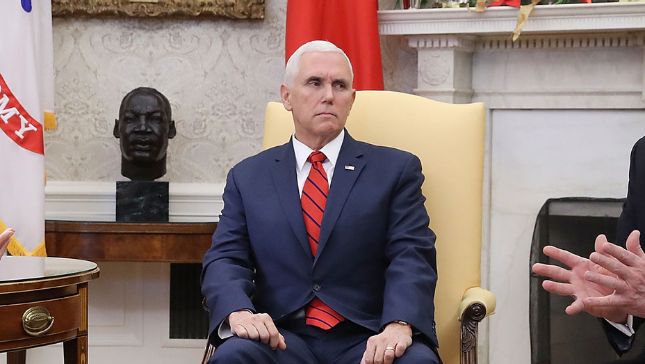 Mike Pence_Oval Office - Getty - H 2018
