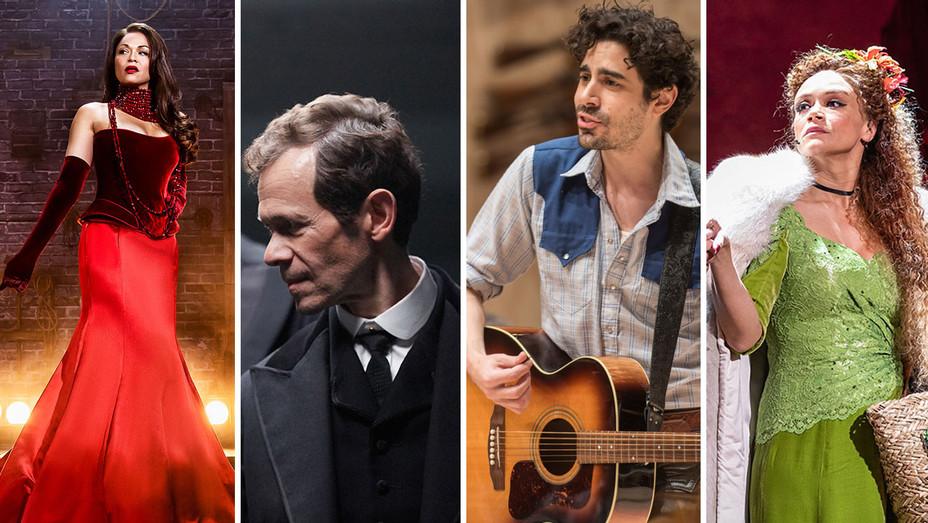 Moulin Rouge_Lehman Trilogy_Oklahoma_Hadestown - Publicity - H Split 2018