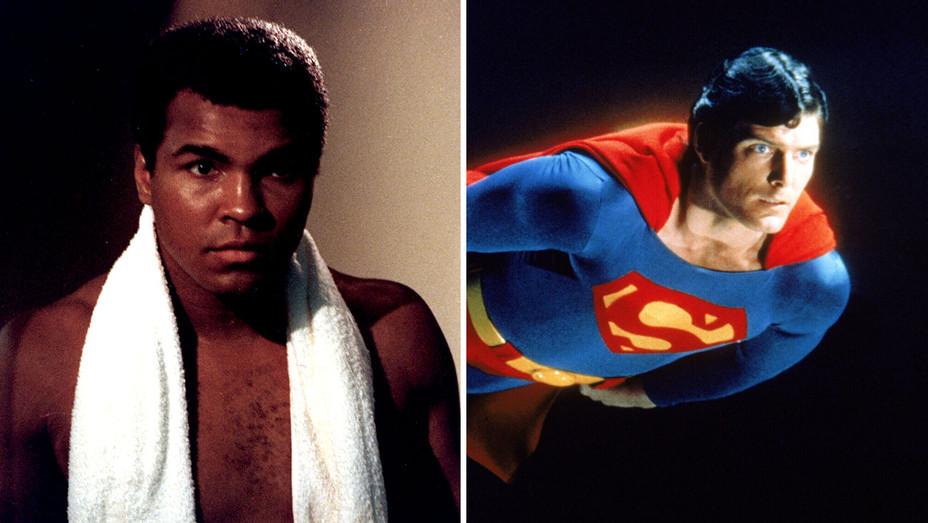 Muhammad Ali and Superman-Split-Photofest-h 2018