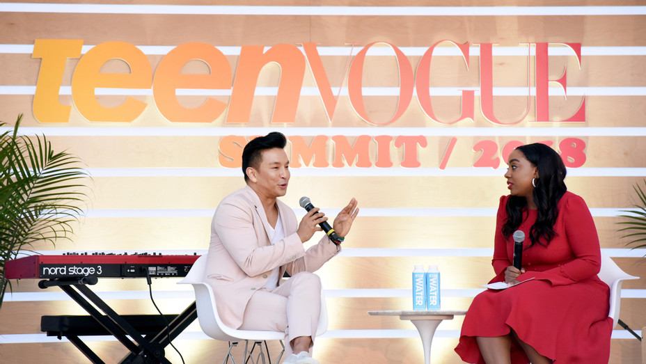Prabal Gurung and Lindsay Peoples Wagner speak onstage during their panel at The Teen Vogue Summit 2018 - Getty - H 2018