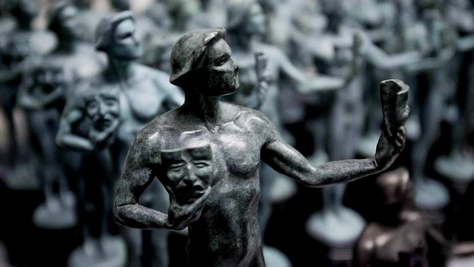 SAG Award statuettes - H Getty 2018
