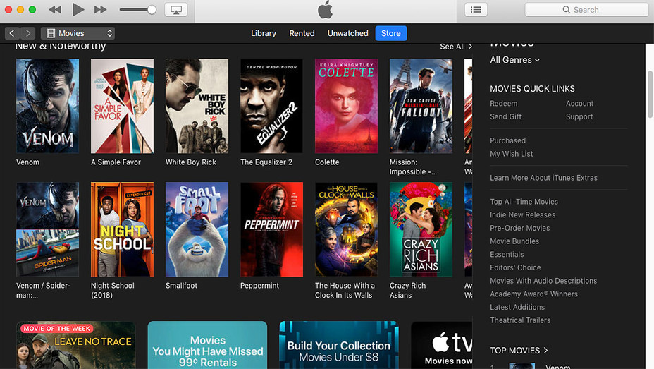 Apple iTunes music - Generic- Screen Shot -H 2018