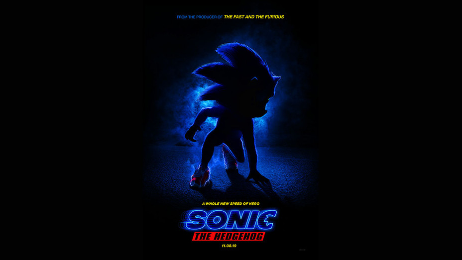 Sonic The Hedgehog poster-Publicity-H 2018
