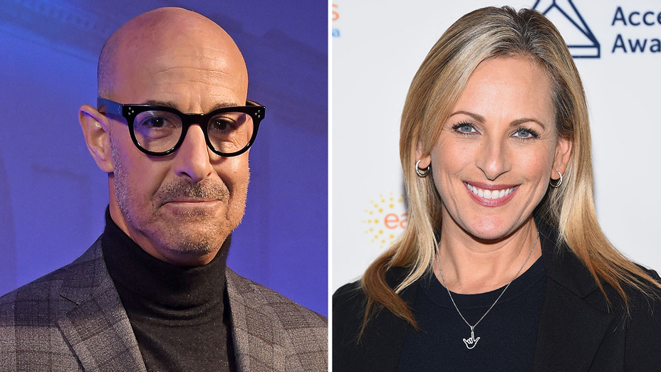 Stanley Tucci and Marlee Matlin- Split-Getty-H 2018