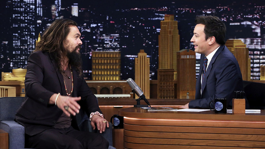 The Tonight Show-Jason Momoa-Jimmy Fallon-Publicity-H 2018