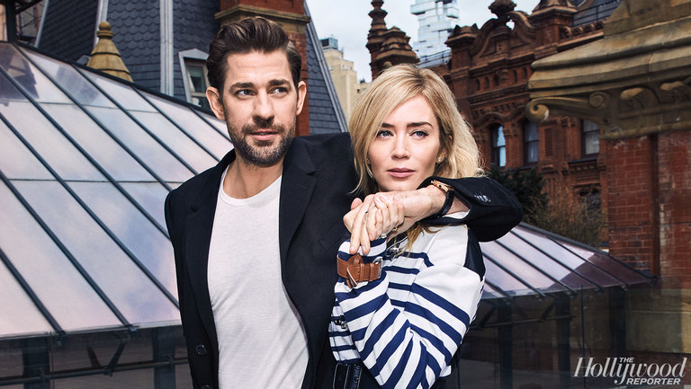"""I Broke the Rule for Him"": How Emily Blunt and John Krasinski Became Hollywood's Couple of the Year"