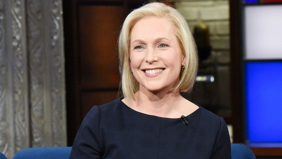 The Late Show with Stephen Colbert and guest Sen. Kirsten Gillibrand - Publicity-H 2019