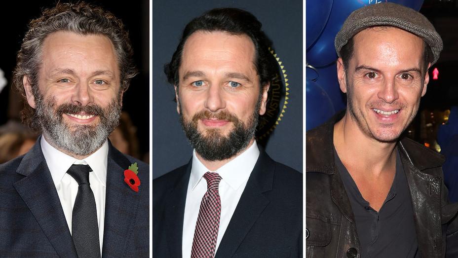 Michael Sheen, Matthew Rhys and Andrew Scott- Split-Getty-H 2019