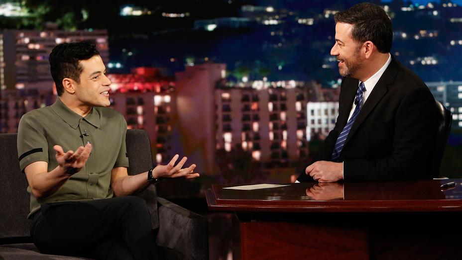 Rami Malek on Jimmy Kimmel - ABC Publicity-H 2018
