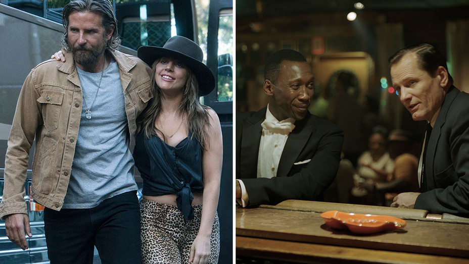 A Star Is Born and Green Book- Split-H 2019