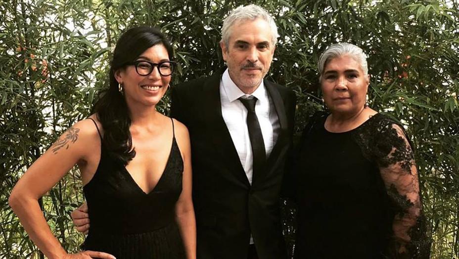 Ai-jen Poo, Alfonso Cuaron and Rosa Sanluis - Publicity - H 2019
