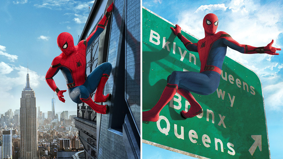 Amazing Spiderman-Queens-New York-Split-Publicity Stills-Photofest-H 2019