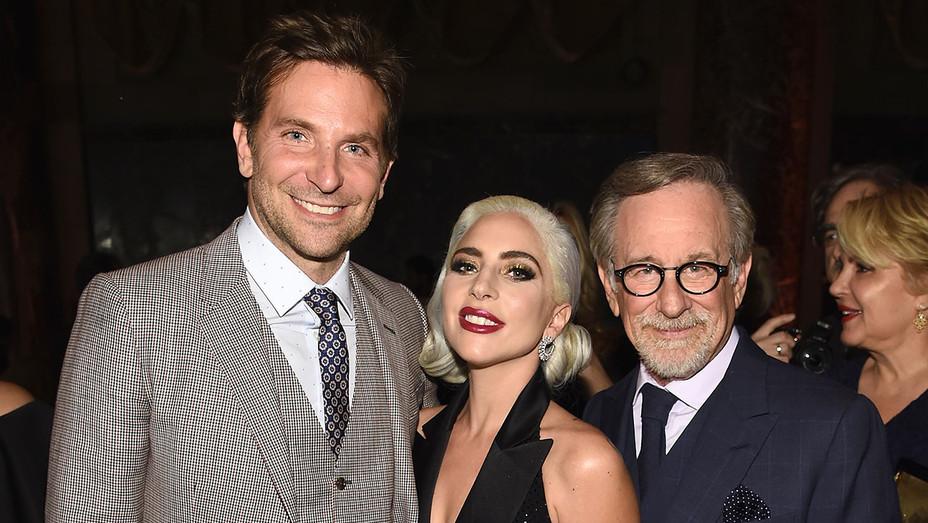 Bradley Cooper-Lady Gaga-Steven Spielberg-Getty-H 2019