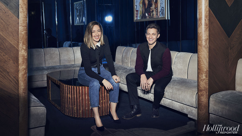 THR - Chris Kelly and Sarah Schneider - Photographed by Josh Telles - H 2019