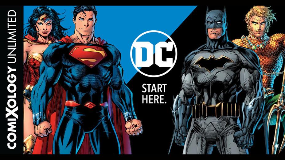 Comixology Unlimited DC Announcement-Publicity-H 2019