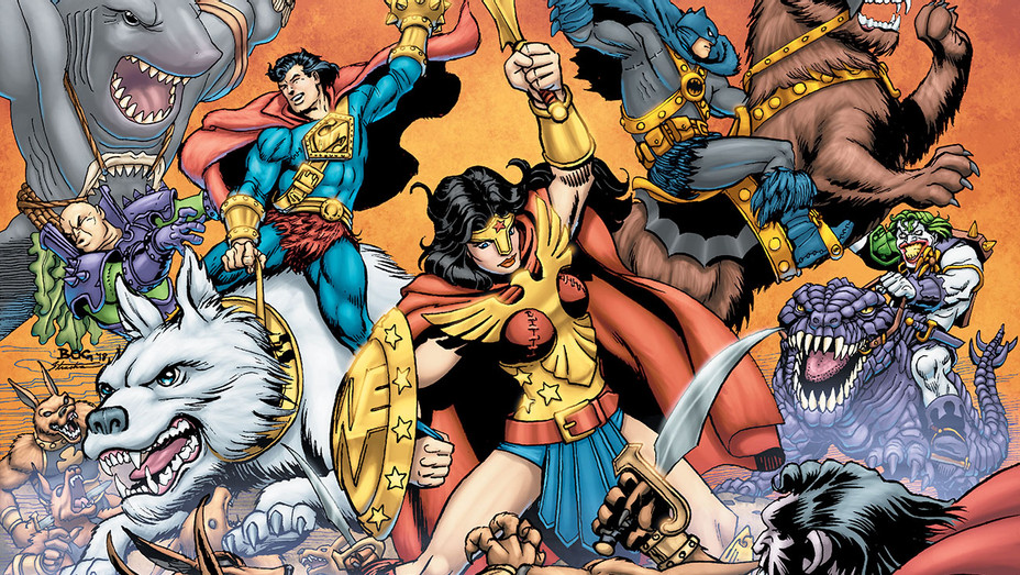 DC Primal Age 100 Page Giant - Publicity - H 2019
