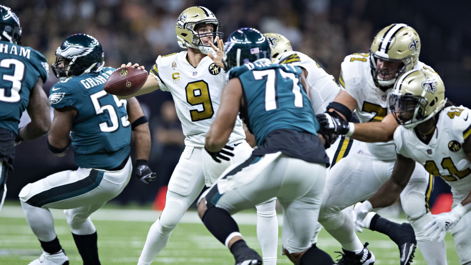 Eagles and Saints in 2018 - H Getty 2019