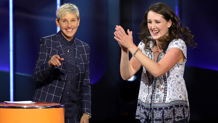 ELLEN'S GAME OF GAMES  -The Sound of Musical Chairs- Jan-29- Ellen DeGeneres, Eileen Victory -NBC publicity -H 2019
