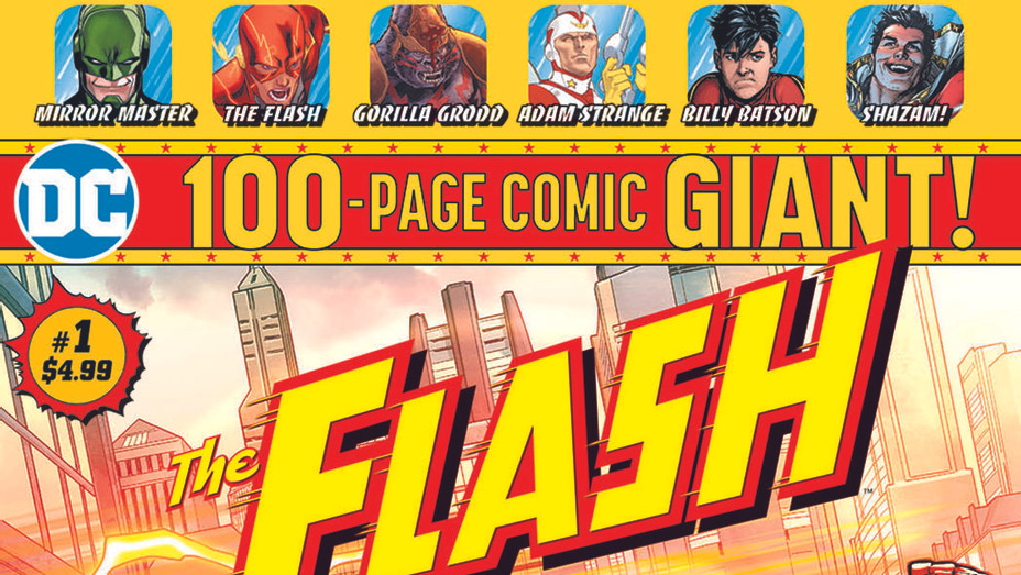 Flash 100-Page Giant - Clayton Henry/DC Entertainment - Publicity- P 2019