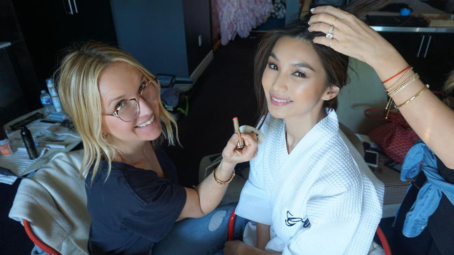 Gemma Chan Gets Ready for the SAG Awards - Publicity - H 2019
