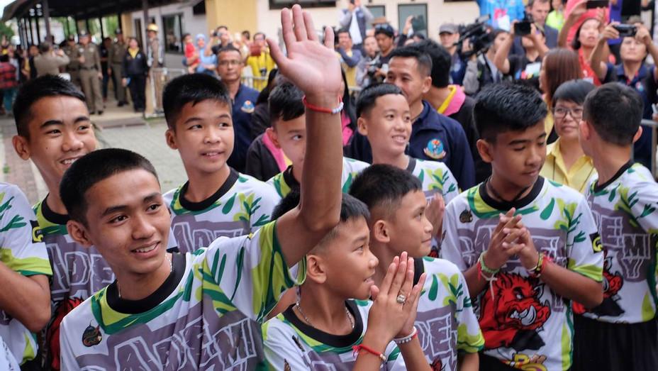 Thai Football Team - Getty - H 2019