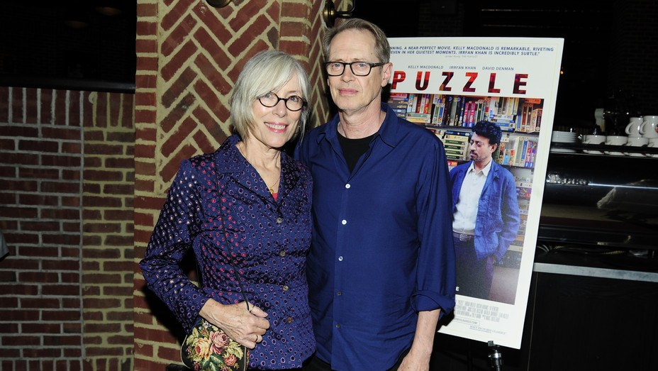 Jo Andres and Steve Buscemi - H Getty 2019
