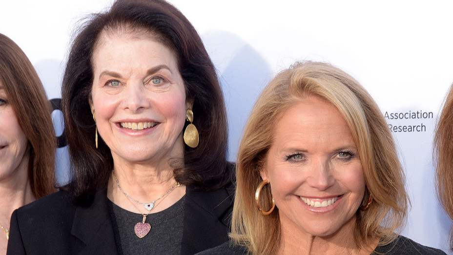 Sherry Lansing and Katie Couric - 2018 Stand Up To Cancer fundraising special - Getty-H 2019