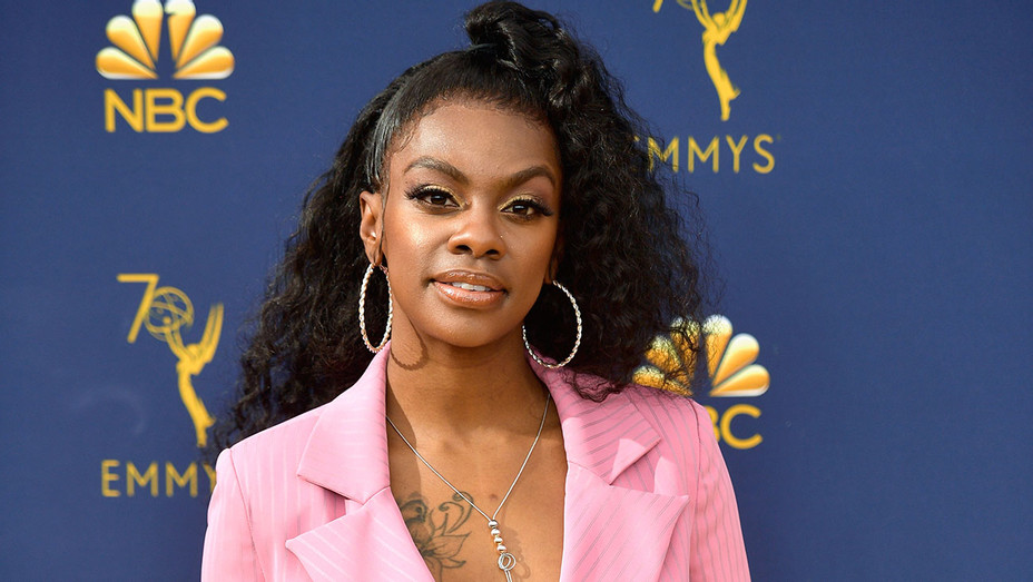 Jessica Robin Moore attends the 70th Emmy Awards 2018- Getty-H 2019