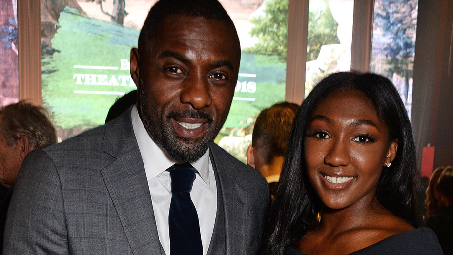 Idris Elba and Isan Elba attend The 64th Evening Standard Theatre Awards - Getty-H 2018