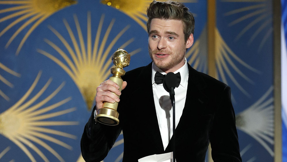 """Richard Madden from """"Bodyguard"""" accepts the Best Performance - Getty - H 2019"""