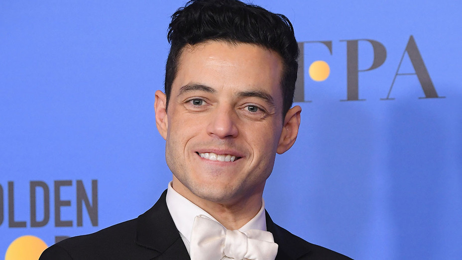 Rami Malek poses in the press room during the 76th Annual Golden Globe Awards - Getty-H 2019