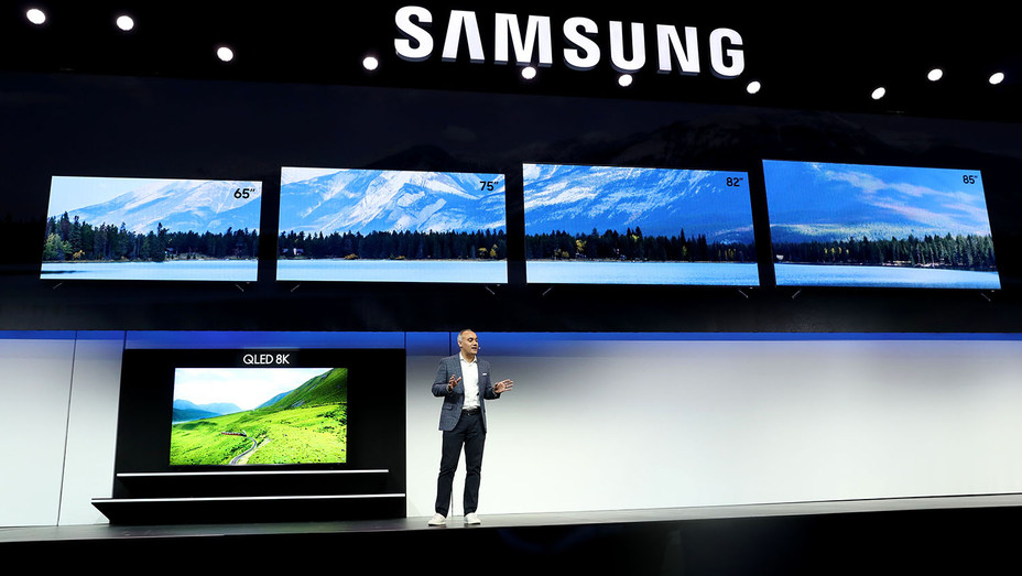 Samsung press event for CES 2019 - Getty -H 2019