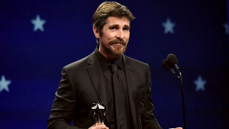 Christian Bale onstage at The 24th Annual Critics' Choice Awards - Getty- H 2019