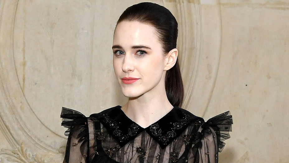 Rachel Brosnahan attends the Christian Dior Haute Couture Spring Summer 2019 show - Getty -H 2019