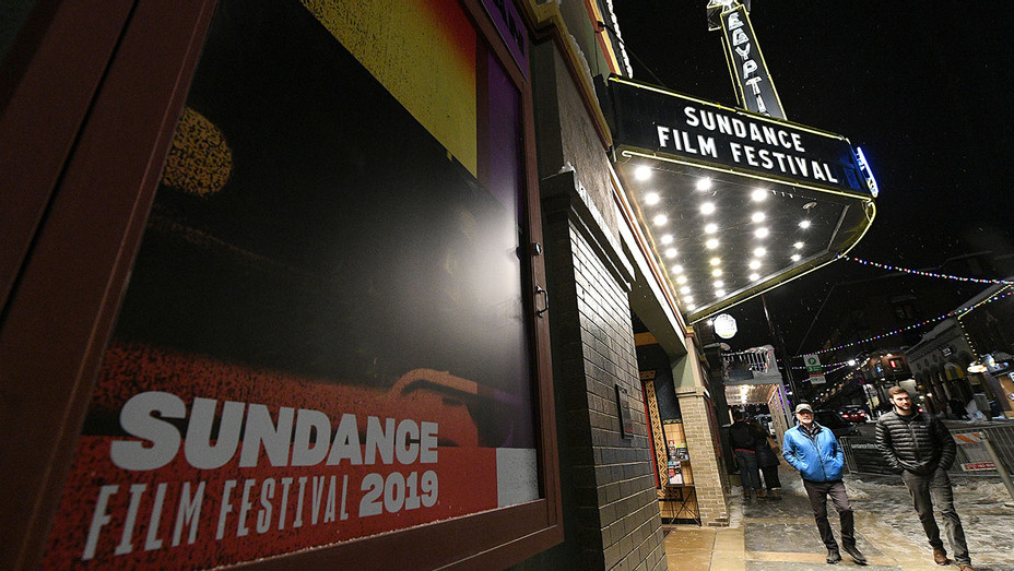 2019 Sundance Film Festival - A view of official signage around town as Park City - Getty-H 2019