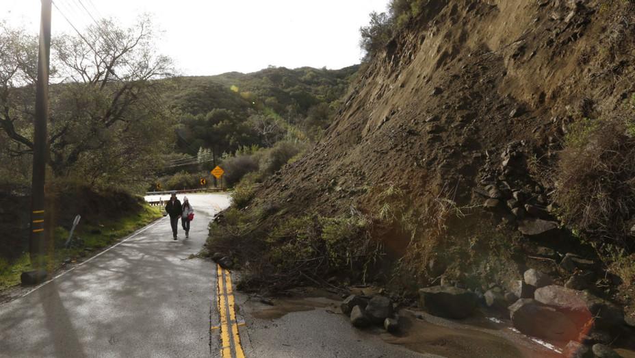 Malibu mudslide in 2017 - Getty - H 2019