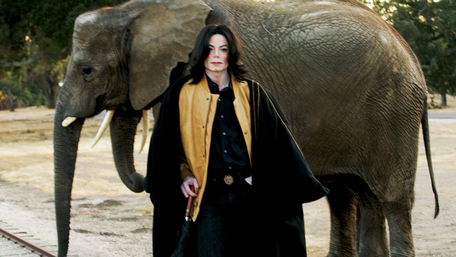 ONE TIME USE ONLY - Michael Jackson photographed at the Neverland Ranch in October 2005- Getty-H 2019