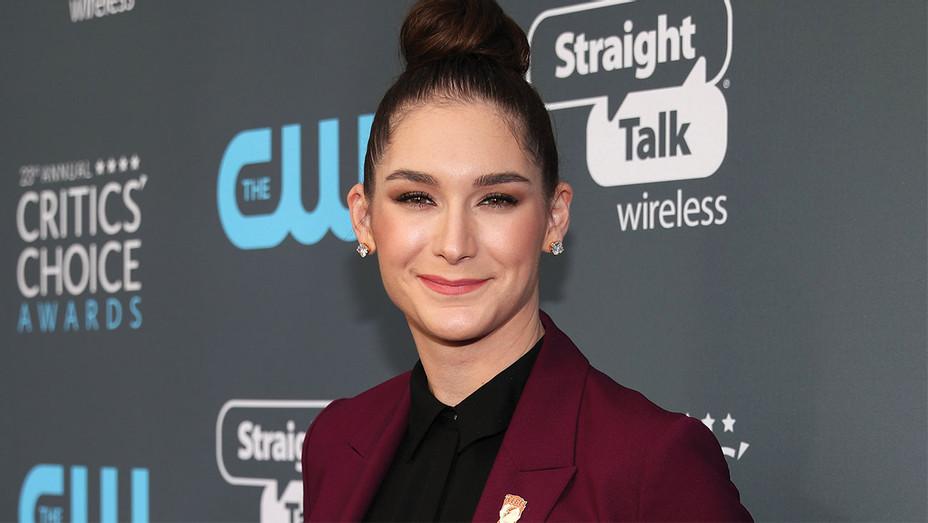 Liz Hannah attends The 23rd Annual Critics' Choice Awards -Getty - H 2019