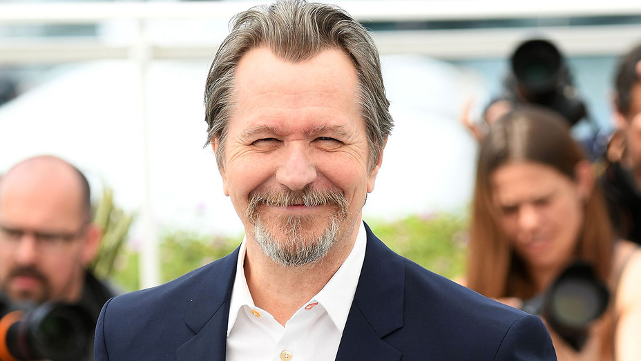 Gary Oldman attends Photocall during the 71st annual Cannes Film Festival 2- Getty-H 2019