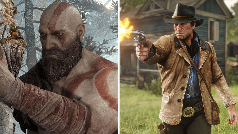 God of War and Red Dead Redemption 2_Split - Publicity - H 2019