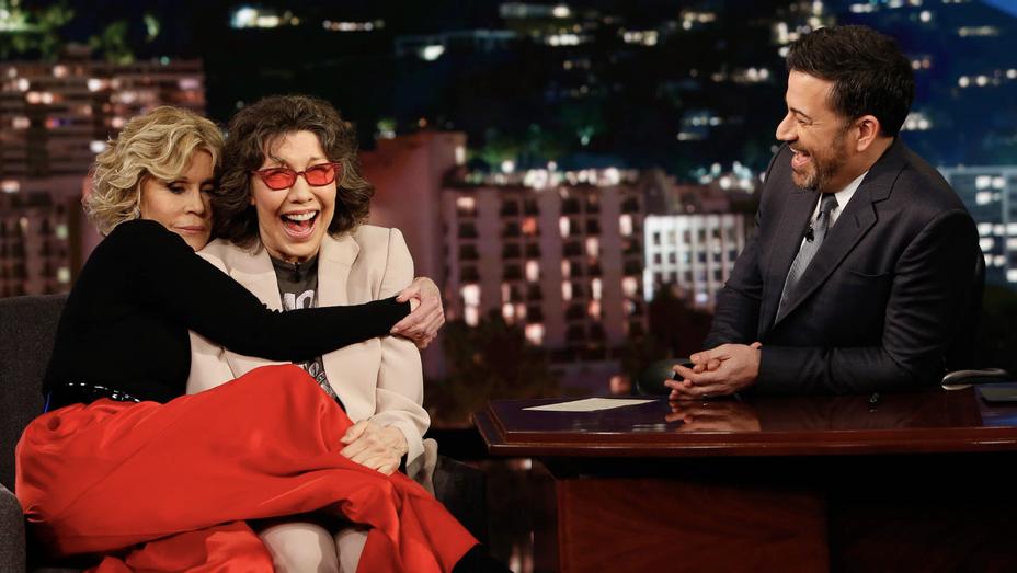 Jane Fonda Lily Tomlin Jimmy Kimmel - Publicity - H 2019