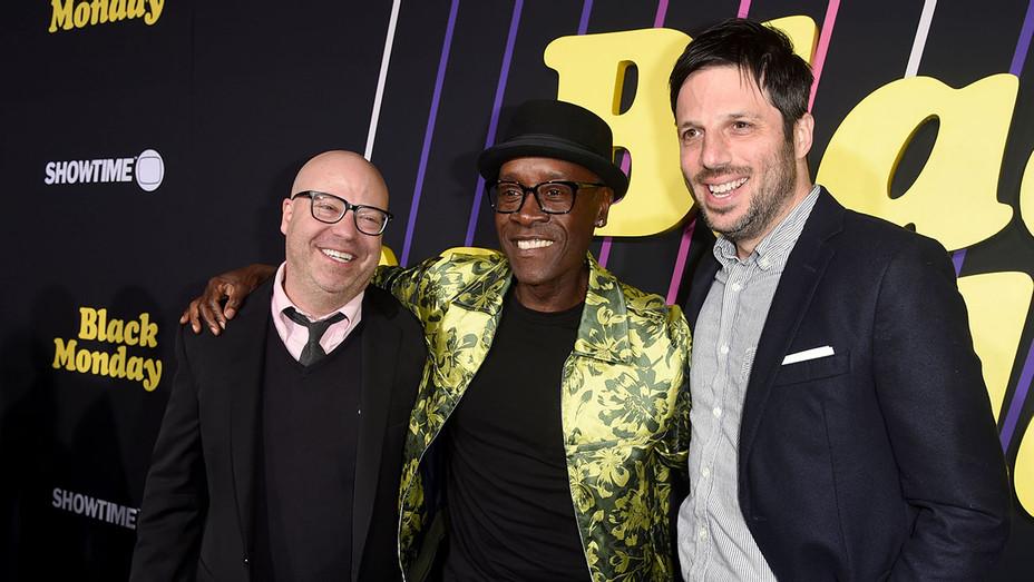 Jordan Cahan, Don Cheadle and David Caspe - Getty - H 2019