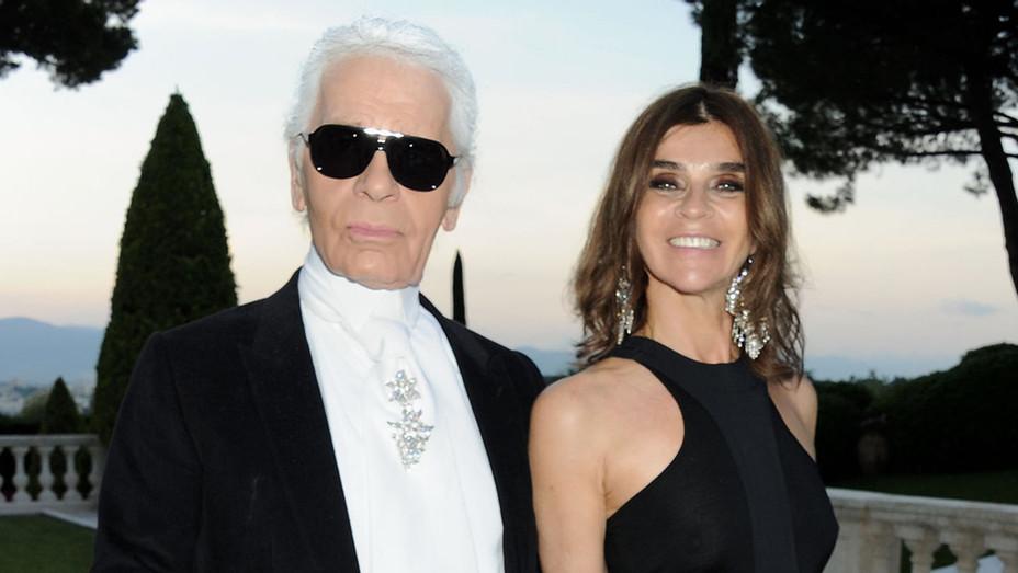 Karl Lagerfeld and Carine Roitfeld-Getty-H 2019