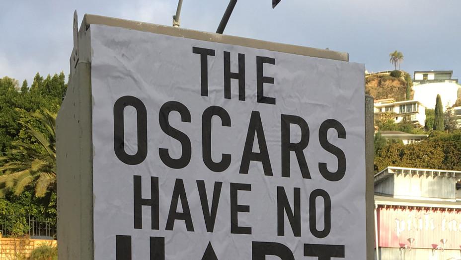 Kevin Hart Oscars Street Art - P 2018