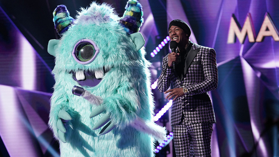 THE MASKED SINGER - Monster and host Nick Cannon - Publicity-H 2019