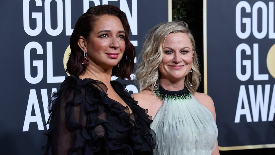 Maya Rudolph and Amy Poehler - Getty - H 2019