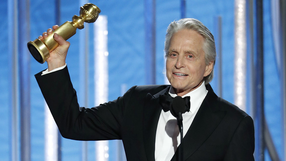 Michael Douglas-Golden Globes 2019 onstage-Getty-H 2019