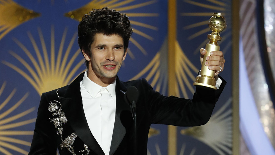 76th ANNUAL GOLDEN GLOBE AWARDS - Ben Whishaw, winner of Best Supporting Actor - Publicity-H 2019