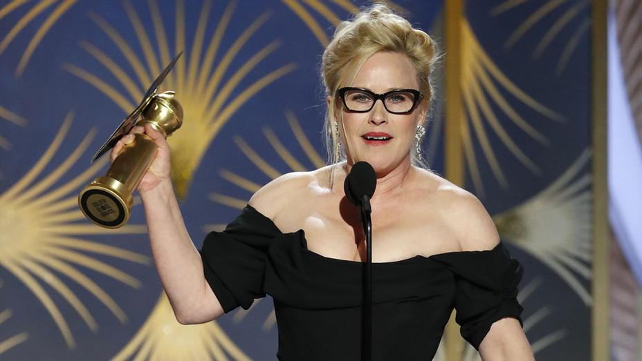 76th ANNUAL GOLDEN GLOBE AWARDS - Patricia Arquette, winner of Best Actress  - Publicity-H 2019
